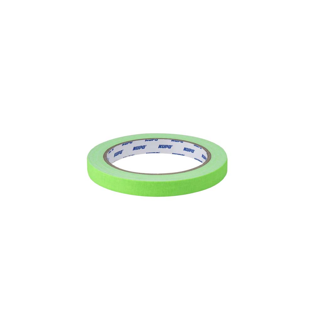 KUPO CS-1215GN CLOTH SPIKE TAPE-GREEN