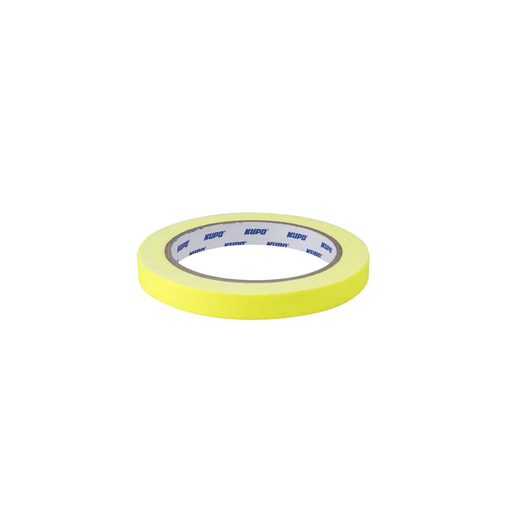 KUPO CS-1215Y CLOTH SPIKE TAPE-YELLOW