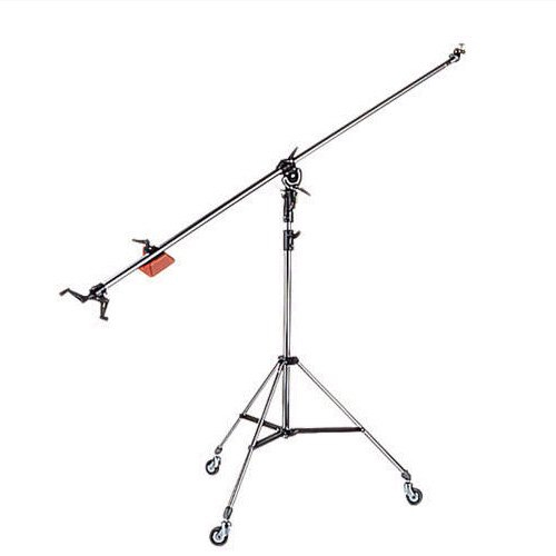 Manfrotto 025B Black Super Boom Stand