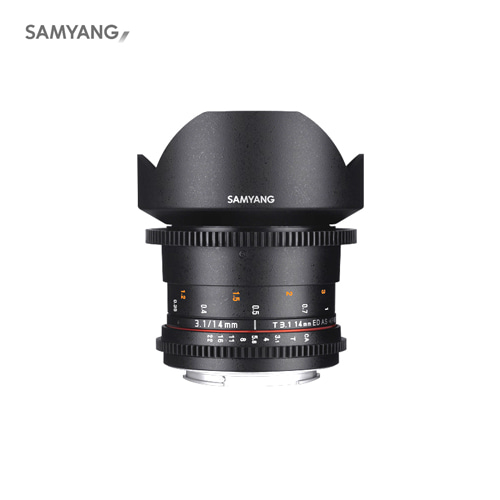 SAMYANG VDSLR 14mm T3.1 ll ED AS IF UMC,SAMYANG,SAMYANG렌즈,삼양,삼양렌즈,렌즈,영상렌즈
